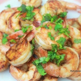 Indoor Grill Chilli Lime Shrimp