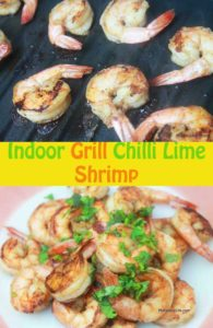 lime and shrimp