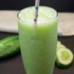 Cucumber ginger juice