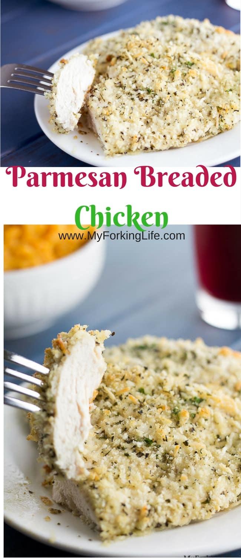 parmesan breaded chicken