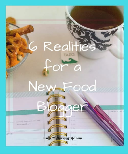 6 Realities for a New Food Blogger