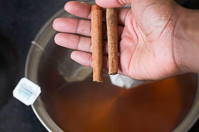 spiced iced sweet tea