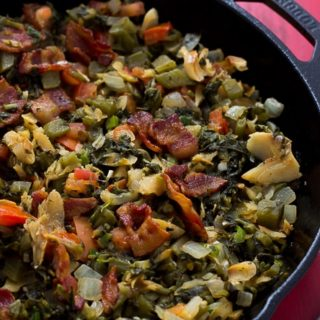Callaloo and SaltFish + BHM Virtual Potluck