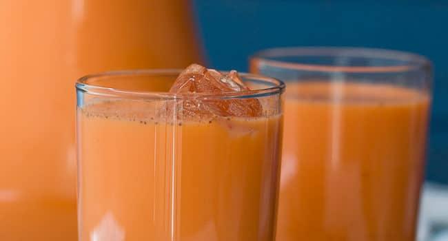 Jamaican Style Carrot Juice Recipe