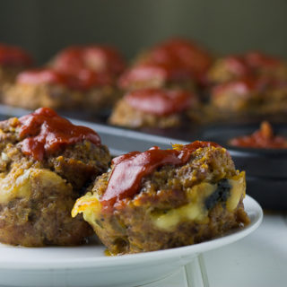 mozzarella stuffed meatloaf. Easy and delicious.