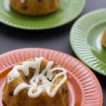 Mini rum carrot cake. Perfect size to give away. Perfect size for Valentine's Day.