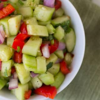 Sweet Chili Thai Cucumber Salad