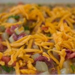 Corned Beef Hash Breakfast. Corned beef casserole for breakfast. Perfect for meal prep. Perfect for a St. Patrick's Day Breakfast