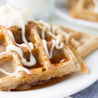 Cinnabon Waffles Recipe + Hello Spring
