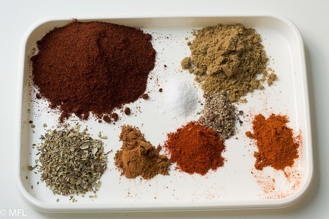 spices for pressure cooker turkey chili