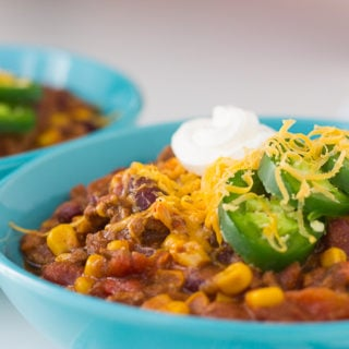 Pressure Cooker Turkey Chili Recipe