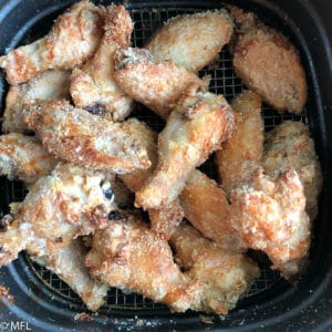 This Crispy Korean Air Fried Chicken Wings recipe is delicious, sweet, sticky, and a little bit spicy. The Air fryer provides the perfect crunch to these wings without all the added fat from deep frying. #airfryerrecipes #airfryer #airfriedchickenwings #chickenwings #appetizers #koreanfoods #healthy