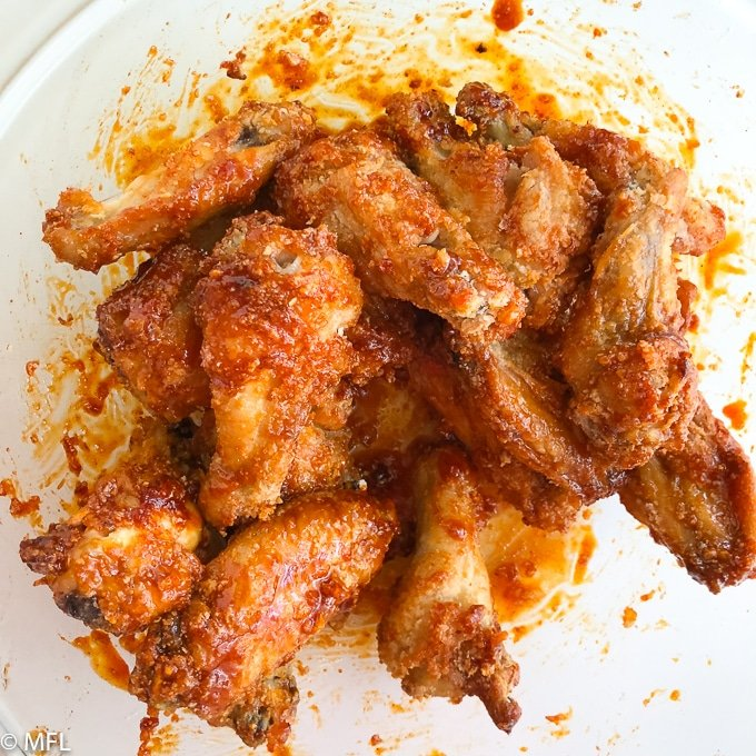 Crispy Korean Air Fried Chicken Wings My Forking Life