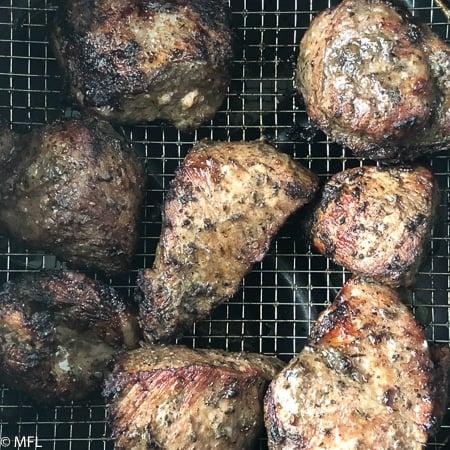 air fryer jamaican jerk pork recipe in the air fryer basket