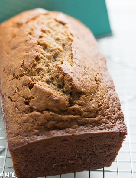 I finally found The Best Banana Recipe in the World! This Banana Bread is moist, delicious, and can be made in one bowl. #easyrecipe #bananabread #baking #onebowl #onebowlrecipes #bakingbread