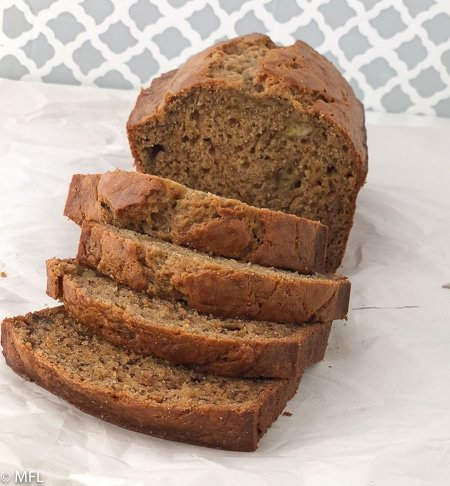 best banana bread recipe in the world sliced