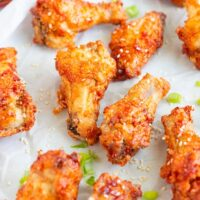 Crispy Korean Air Fried Chicken Wings