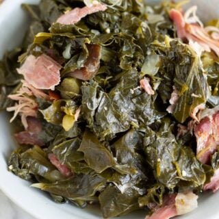 Southern Style Pressure Cooker Collard Greens Recipe