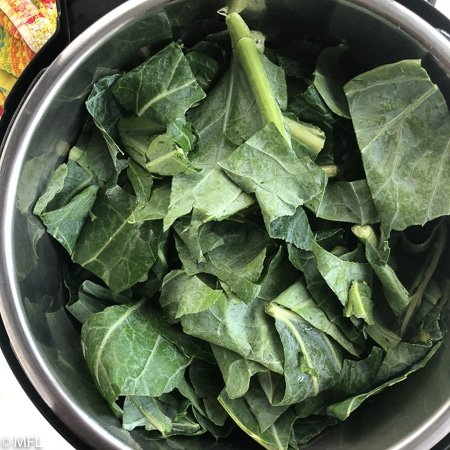 collard greens in instant pot