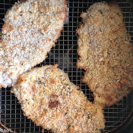 pork halfway cooked