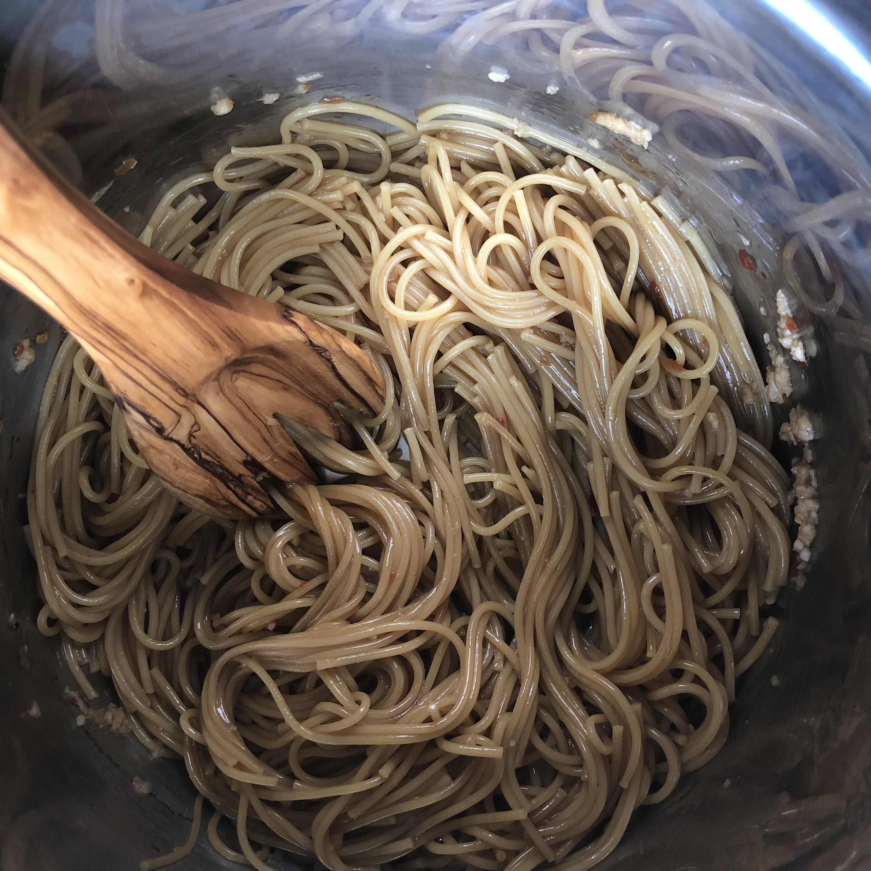 finished instant pot noodles
