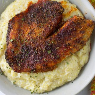 Ninja Foodi Fish and Grits