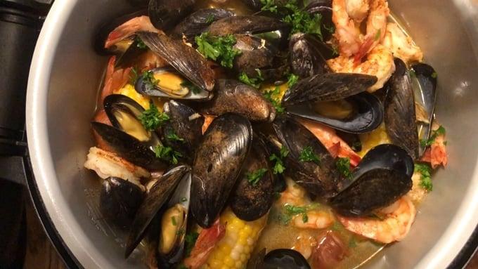 Ninja Foodi Shrimp Boil Recipe Video My Forking Life