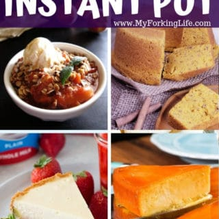 30 Delicious Instant Pot Dessert Recipes to Try
