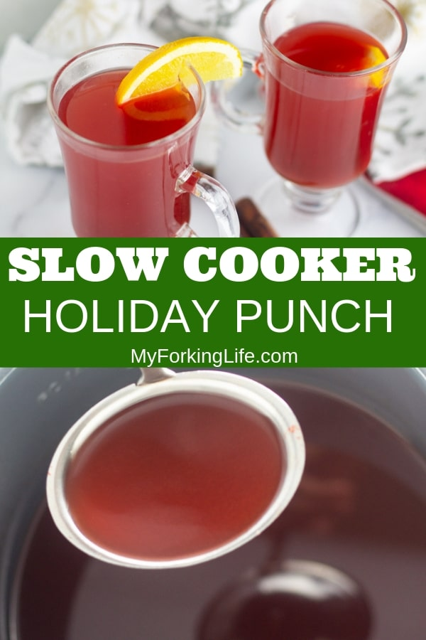 pin for slow cooker hot holiday punch