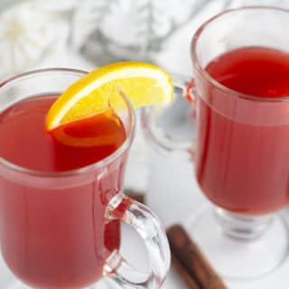 Slow Cooker Hot Holiday Punch