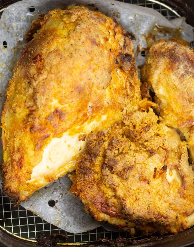 Air Fryer Fried Chicken My Forking Life