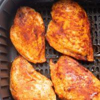 BBQ Air Fryer Chicken Breast