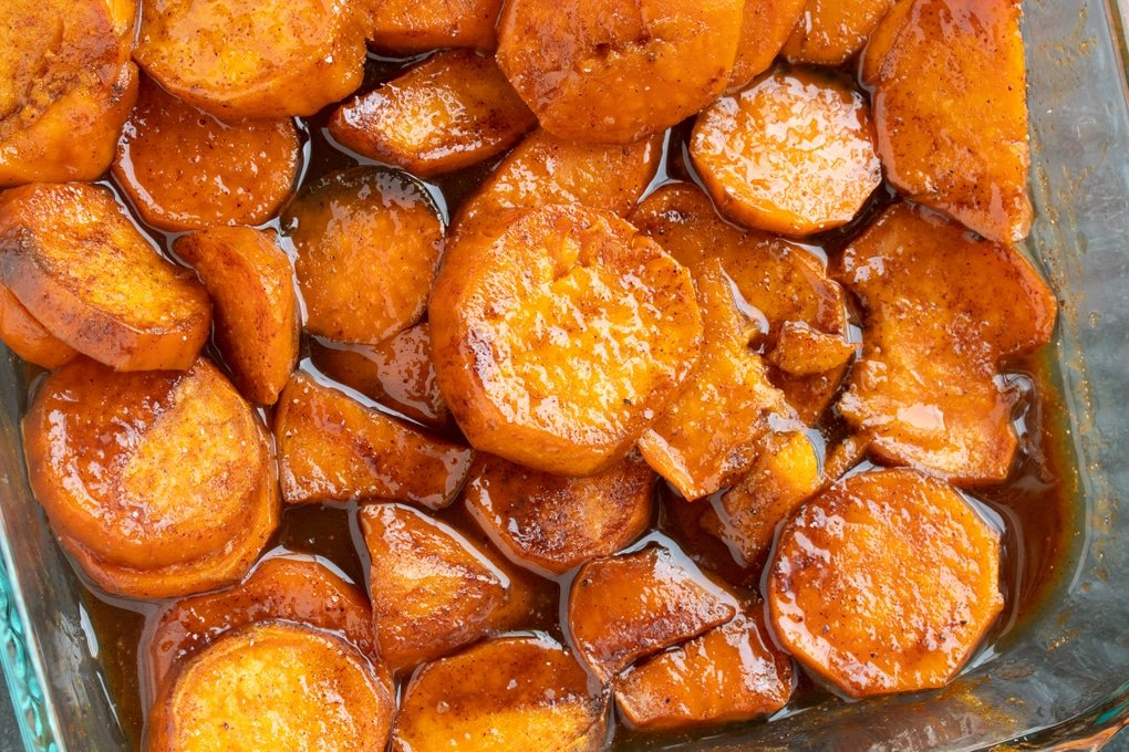 Southern Candied Sweet Potatoes My Forking Life