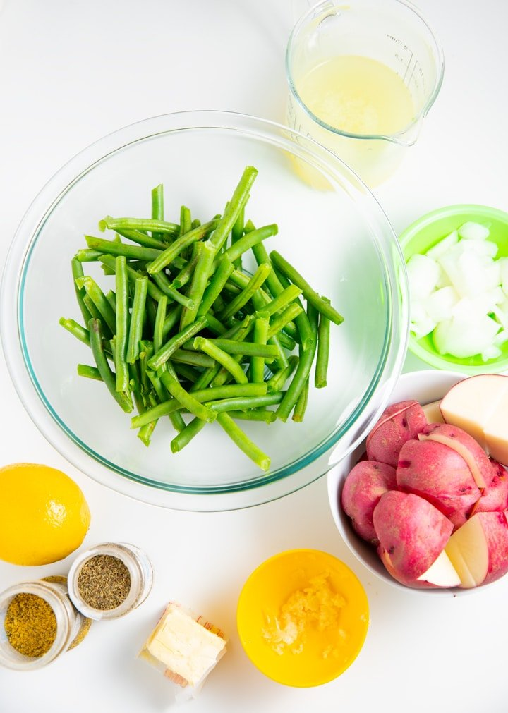 Ingredients to make the recipes