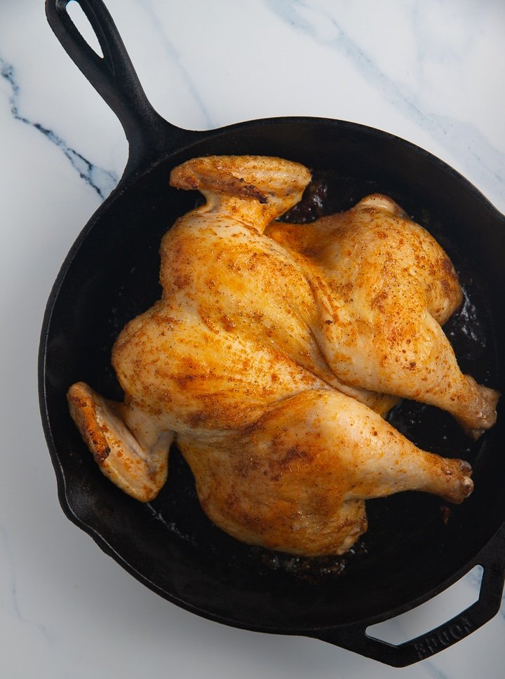 partially baked chicken
